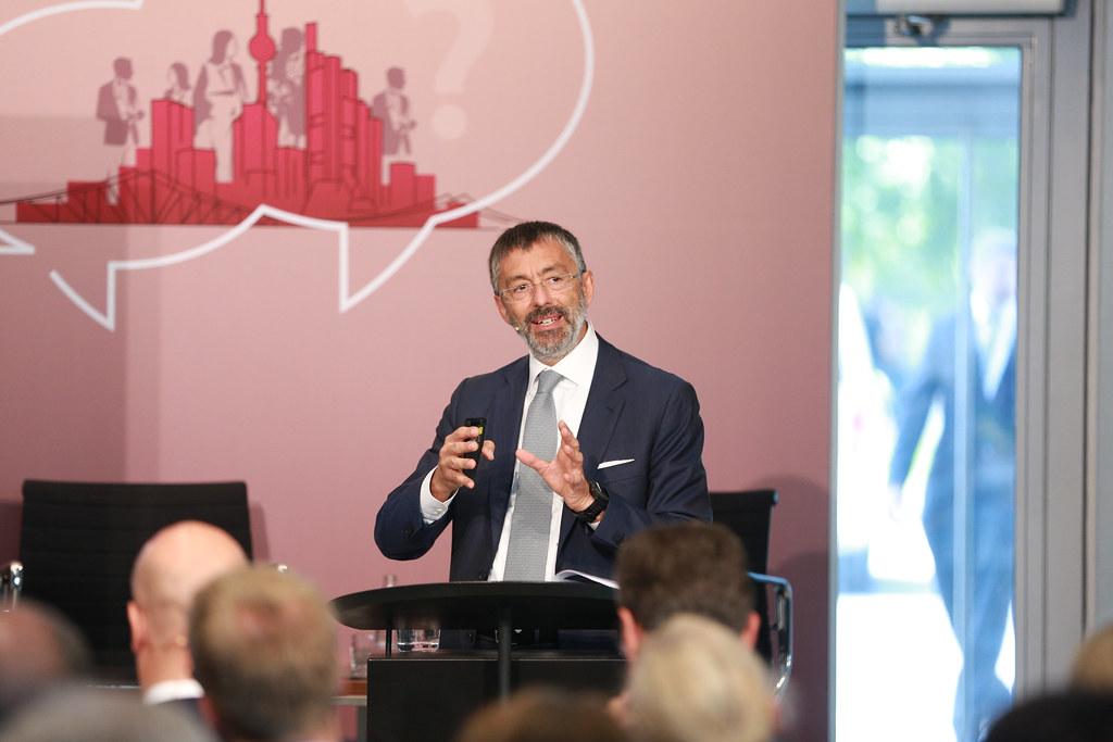 Giovanni Sabatini - Photo credit: Bankenverband - Bundesverband deutscher Banken - Christian Marquardt/action press
