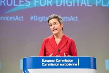 Aiuti di stato - Margrethe Vestager - Photographer: Aurore Martignoni/ European Union, 2020 / Source: EC - Audiovisual Service